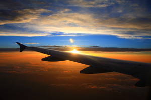 Sunset_plane